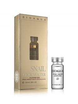 Сыворотка для лица Bioaqua Snail Lock Water