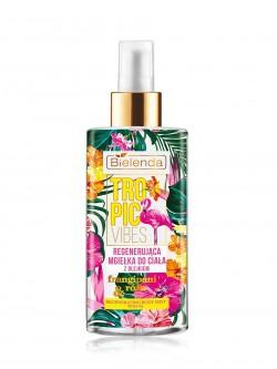 Дымка для тела Bielenda Tropic Vibes Роза и франжипани