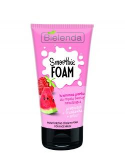 Пенка для умывания Bielenda Smoothie Foam Пребиотик + Клубника + Арбуз