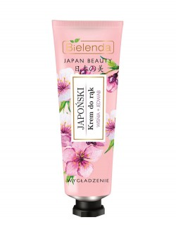 Крем для рук Bielenda Japan Beauty Вишня и шелк