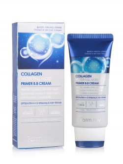 Крем для лица FarmStay Collagen Water Full Moist BB Cream SPF 50 PA+++