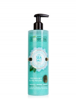 Гель-скраб для тела Bielenda Stress Relief Naturals Shower Gel + Body Scrb Sea Salt