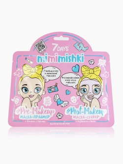 Маска для лица Vilenta 7 Days Mimimishki Pink Edition