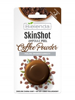 Скраб для лица Bielenda Skin Shot Ampoule Peel Coffee Powder