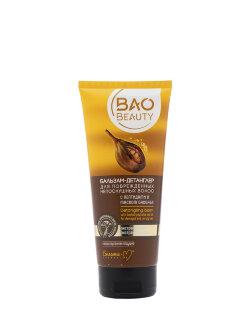 Бальзам-детанглер для волос Bielita Baobeauty с пептидами и маслом баобаба