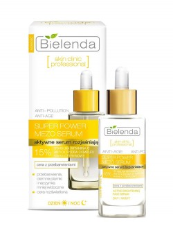Сыворотка для лица Bielenda Skin Clinic Professional Super Power Mezo Serum Day / Night