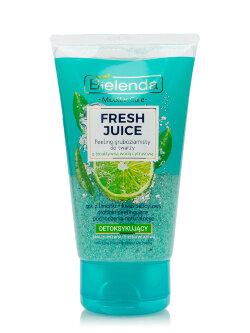 Скраб для лица Bielenda Micellar Care Fresh Juice Face Peeling Лайм