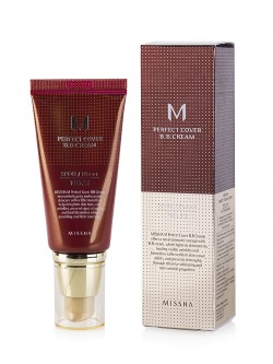 Тональный BB Крем Missha M Perfect Cover BB Cream SPF 42 PA+++