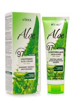 Крем для лица Витэкс 97% Aloe Осветляющий с алоэ