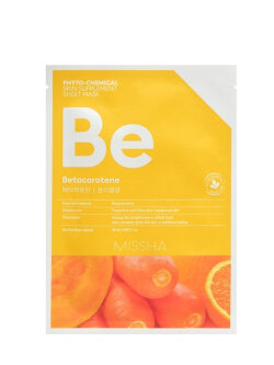 Маска для лица Missha Phyto-Chemical Skin Supplement Sheet Mask Betacarotene