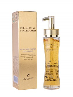 Эссенция для лица 3W Clinic Collagen & Luxury Gold Revitalizing Comfort Gold Essence