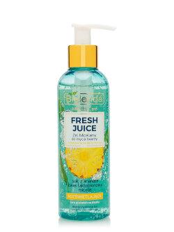 Мицеллярный гель для умывания Bielenda Micellar Care Fresh Juice Ананас