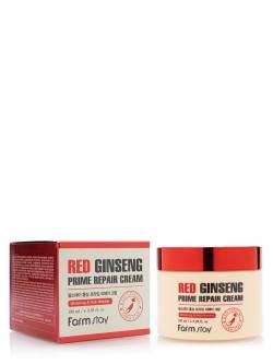 Крем для лица FarmStay Red Ginseng Prime Repair Cream