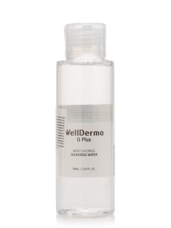 Жидкость для снятия макияжа WellDerma G Plus Moisturizing Cleansing Water