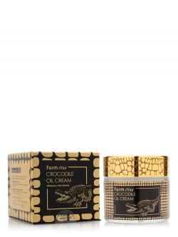 Крем для лица FarmStay Crocodile Oil Cream