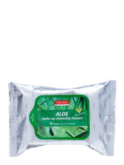 Салфетки для снятия макияжа PureDerm Aloe