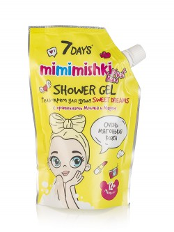 Vilenta 7 Days Mimimishki Sweet Dreams Shower Gel