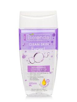 Жидкость для демакияжа двухфазная Bielenda Clean Skin Expert Nourishing