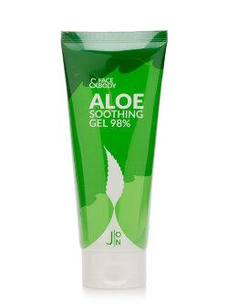 Гель для лица и тела J:ON Face & Body Aloe Soothing Gel 98%