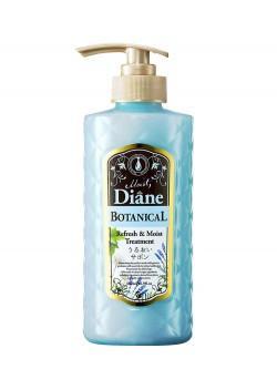 Бальзам-кондиционер для волос Moist Diane Botanical Refresh & Moist Treatment