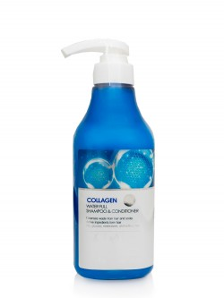 Шампунь-кондиционер для волос FarmStay Collagen Water Full Shampoo & Conditioner