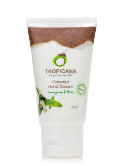 Крем для рук Tropicana Coconut Hand Cream Lemongrass & Mint