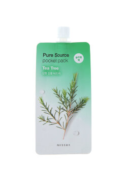 Маска для лица Missha Pure Source Pocket Pack Tea Tree