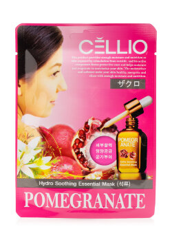 Маска для лица Cellio Hydro Soothing Essential Mask Pomegranate