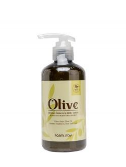 Лосьон для тела FarmStay Olive Moisture Balancing Body Lotion