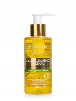 Масло для умывания Bielenda Argan Cleansing Face Oil + Sebu Control Complex