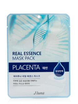 Маска для лица JLuna Real Essence Mask Pack Placenta