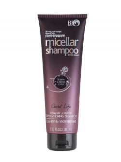 Bio World Secret Life Мицеллярный шампунь-укрепление для волос