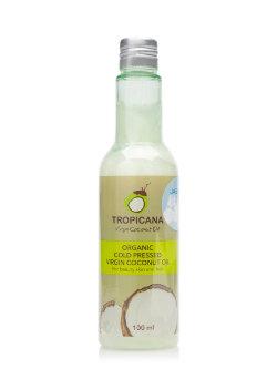 Кокосовое масло Tropicana Organic Cold Pressed Virgin Coconut Oil Jasmine