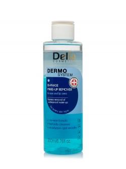 Средство для снятия макияжа Delia Dermo System Bi-Phase Make-Up Remover For Eye And Lip Area
