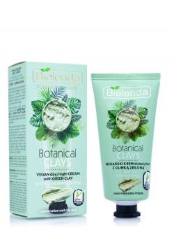 Крем для лица Bielenda Botanic Clays Vegan Day/Night Cream With Green Clay