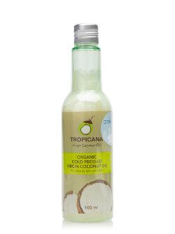 Кокосовое масло Tropicana Organic Cold Pressed Virgin Coconut Oil Moke