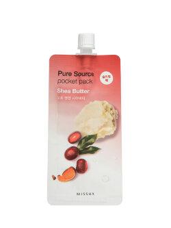 Маска для лица Missha Pure Source Pocket Pack Shea Butter