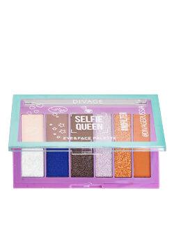 Палетка для макияжа Divage Selfie Queen Eye & Face Palette