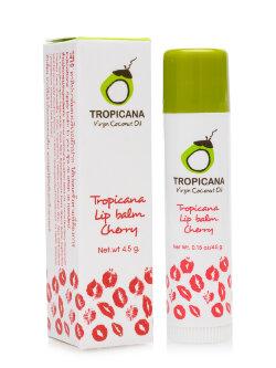 Бальзам для губ Tropicana Virgin Coconut Oil Lip Balm Cherry