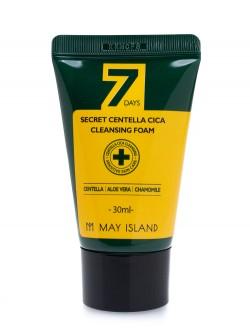 Пенка для лица May Island 7 Days Secret Centella Cica Cleansing Foam