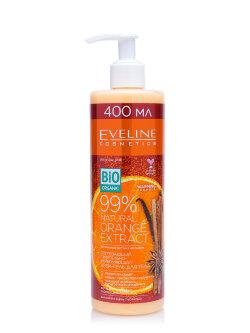 Крем - гель для тела Eveline 99% NATURAL ORANGE EXTRACT