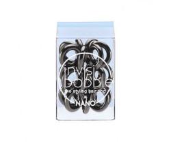 Invisibobble Резинка-браслет для волос Nano True Black