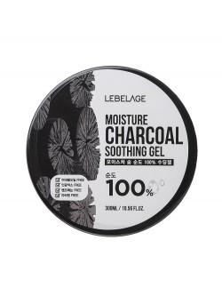 Гель для тела Lebelage Moisture Charcoal 100% Soothing Gel