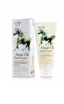 Крем для рук 3W Clinic Horse Oil Hand Cream