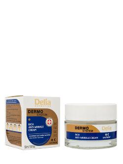 Крем для лица Delia Dermo System Rich Anti-Wrinkle Cream