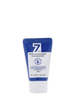 Пенка для умывания 7 Days Secret 4D Hyaluronic Cleansing Foam