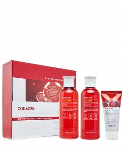 Косметический набор FarmStay Collagen Essential Moisture Skin Care 3 Set