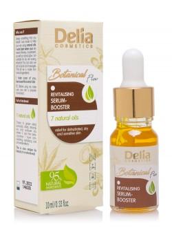 Сыворотка для лица Delia Botanical Flow Revitalising Serum Booster 7 Natural Oils
