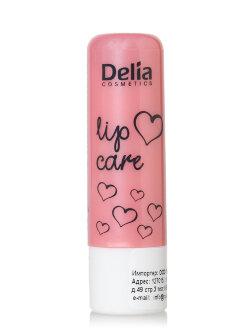Гигиеническая помада Delia Lip Care Pink