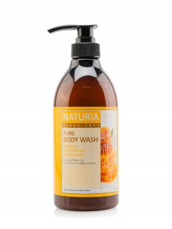 Гель для душа Naturia Pure Body Wash Honey & White Lily